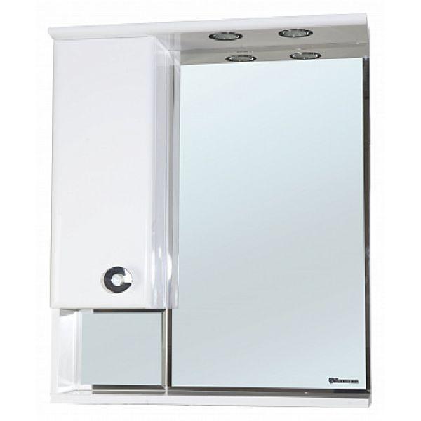 Зеркало-шкаф Bellezza Неаполь 50 L белый
