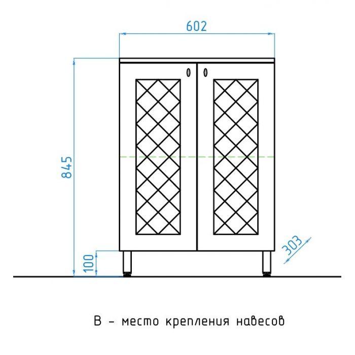 Комод Канна 60 Style Line