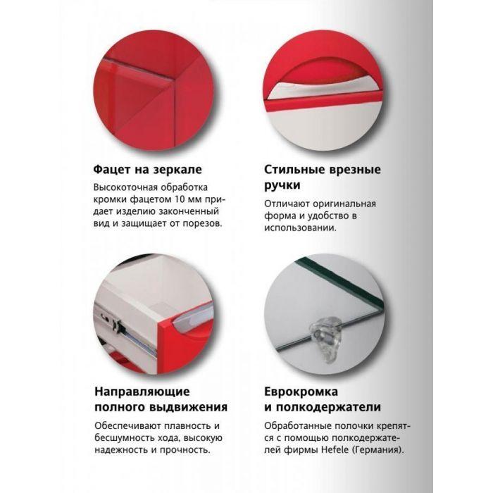 Тумба с раковиной Жасмин_Балтика  Style Line 70
