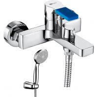 Смеситель Lemark Aura LM0614C для ванны с душем