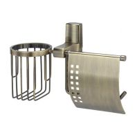 Держатель туалетной бумаги Wasserkraft Exter K-5259 с держателем освежителя воздуха