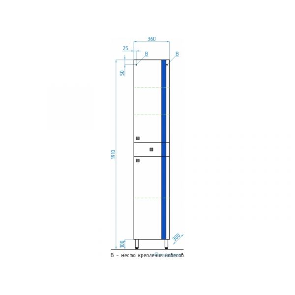Колонна Флокс Style Line 36