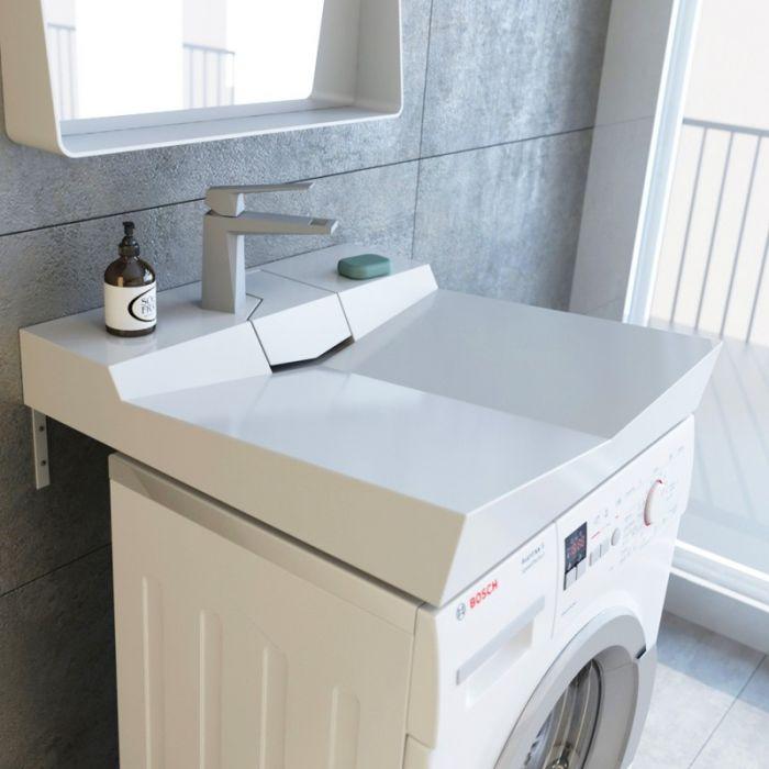 Раковина над стиральной машиной Andrea Onyx 60 см