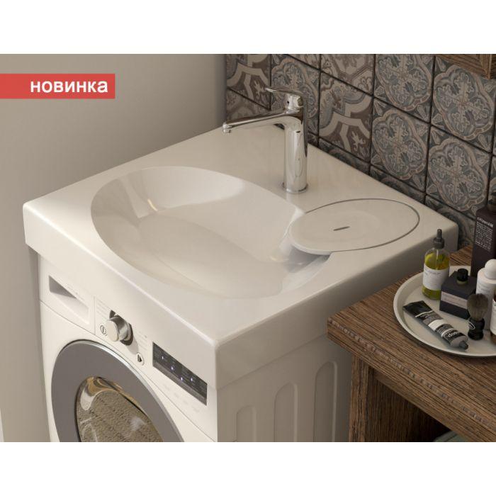 Раковина над стиральной машиной Lea 60х60 см (Estet)
