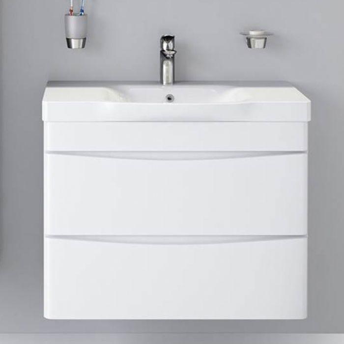 Комплекты  для ванной Am.Pm Like 80 подвесная,белый глянец