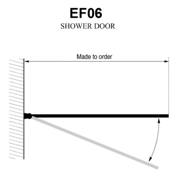 Душевая шторка Domustar EF-06-S