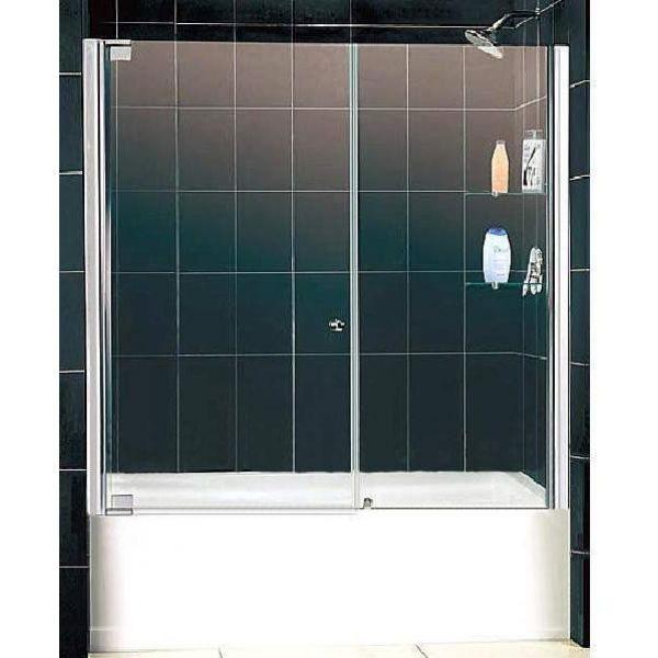 Душевая шторка Domustar EF-07-2 S тонированное стекло