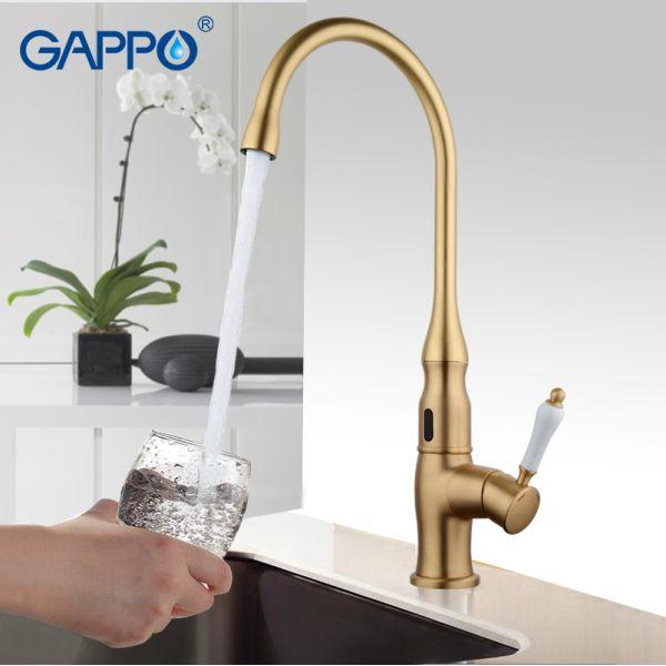 Сенсорный смеситель Gappo G521