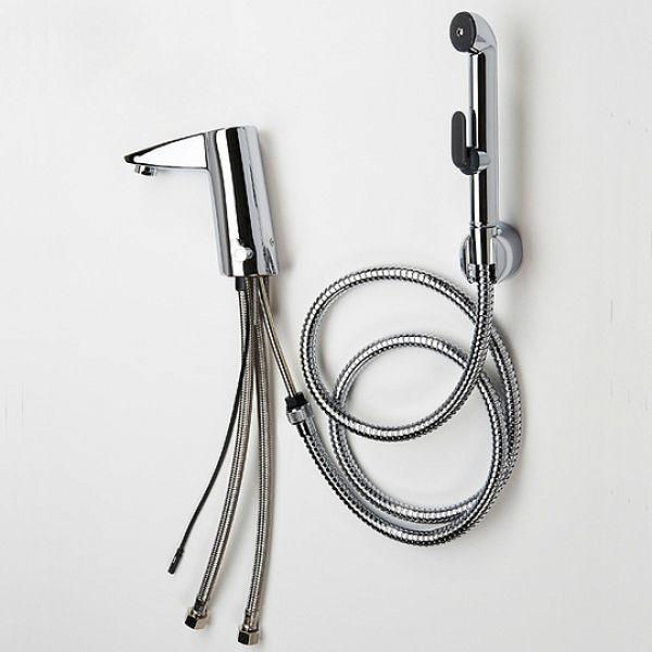 Смеситель Oras Cubista 2816F для раковины с гигиеническим душем