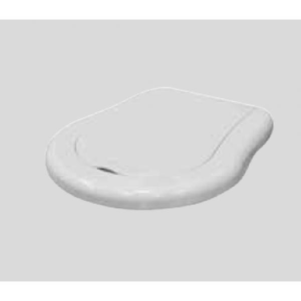 KERASAN Retro Сиденье NEW для унитаза, цвет белый/хром