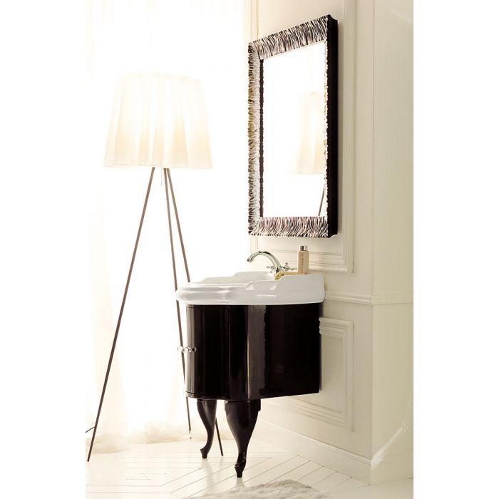 KERASAN Retro Комплект мебели, с ручкой кристаллом (хром), 69см