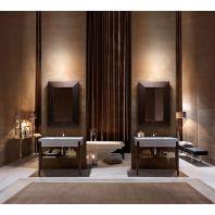 KERASAN Bentley Комплект мебели, (раковина без бортика), с ножками и зеркалом, 100см