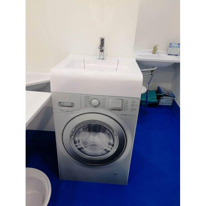 Раковина Корса 60 над стиральной машиной