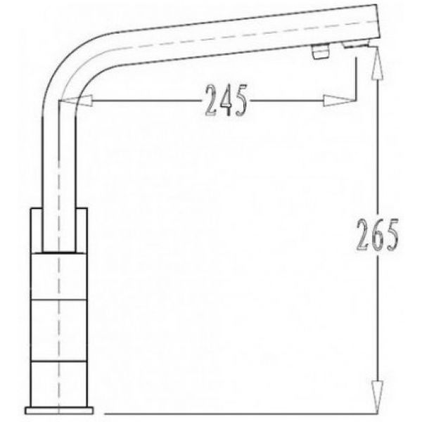 Смеситель для кухни KAISER Sonat 34044-3