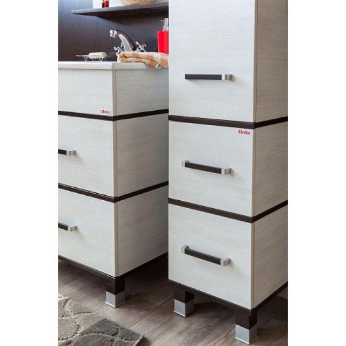 Комплект мебель для ванной Sanflor Турин 80
