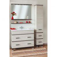 Комплект мебель для ванной Sanflor Турин 100