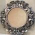 Круглое зеркало в ванную 70 см