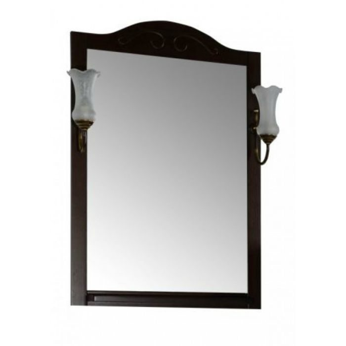 Зеркало АСБ Мебель Флоренция 65 бук тироль