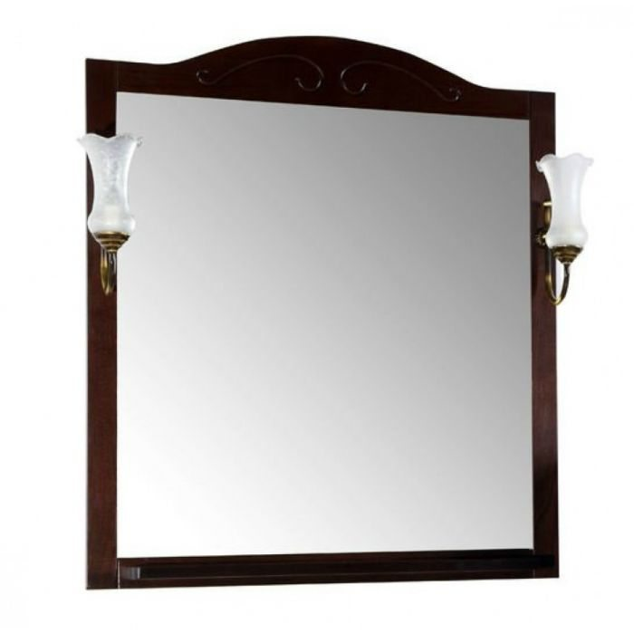 Зеркало АСБ Мебель Флоренция 85 бук тироль