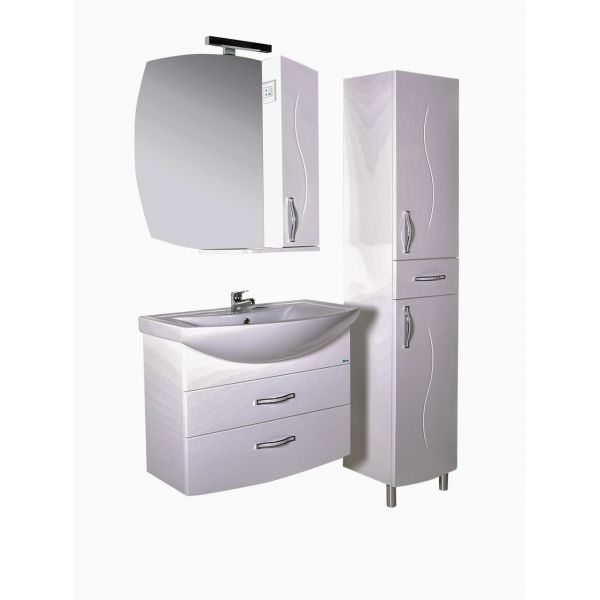 Зеркало-шкаф АСБ Мебель Грета 80