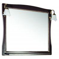 Зеркало АСБ Мебель Модена 85 орех