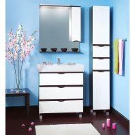 Комплект мебели для ванной Бриклаер Токио 80