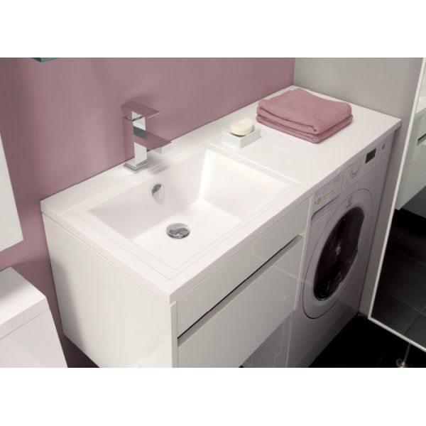 Раковина столешница над стиральной машиной Comfort 120