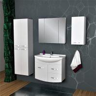 Комплект мебели Dreja.eco Alfa 75, белый лак