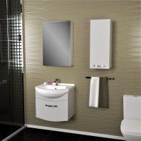 Комплект мебели Dreja.eco Alfa 65, белый лак