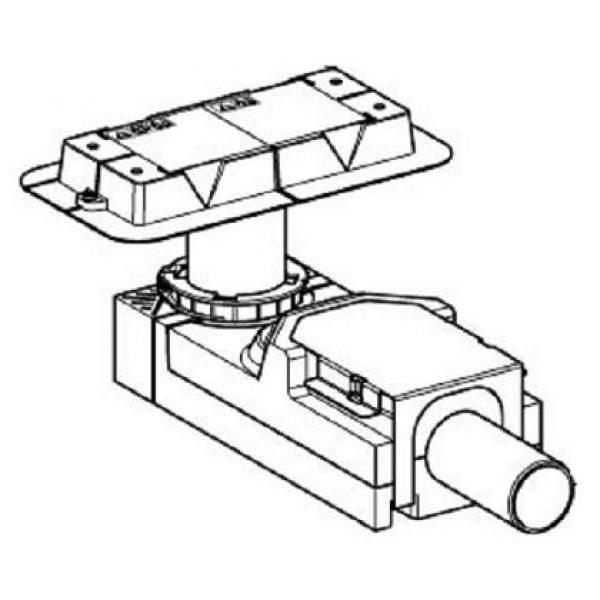 Корпус душевого канала CleanLine, для стяжки пола от 65 см; L30см 154.152.00.1