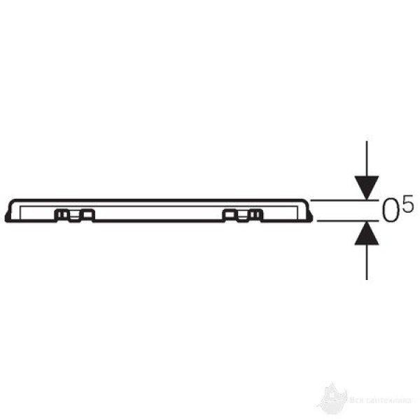 Решетка 8x8 см., с креплением 154.310.00.1