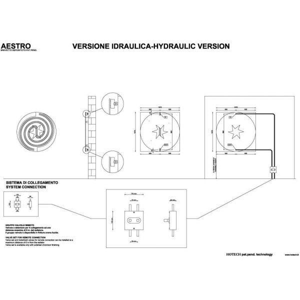 Дизайн радиатор отопления HOTECH Aestro