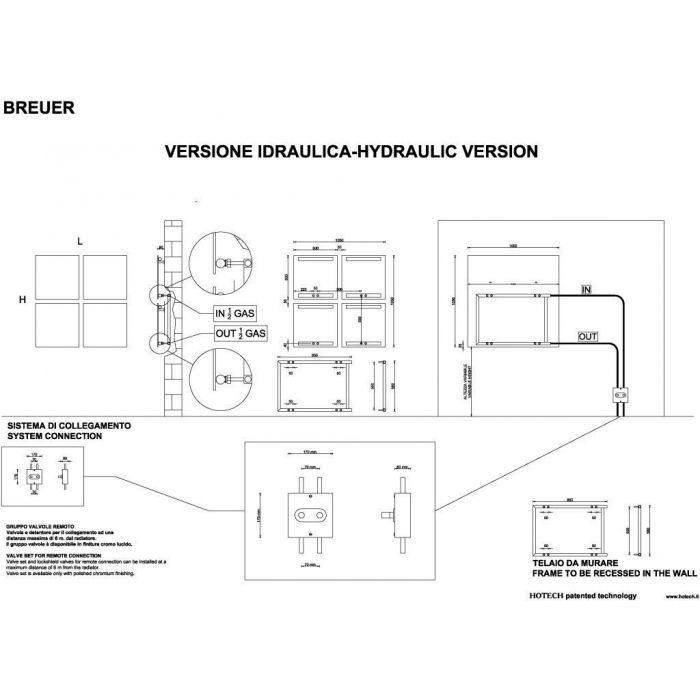 Дизайн радиатор отопления HOTECH Breuer