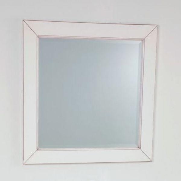 Зеркало для ванной комнаты CAPRIGO Альбион (цвет белый с эффектом старения)