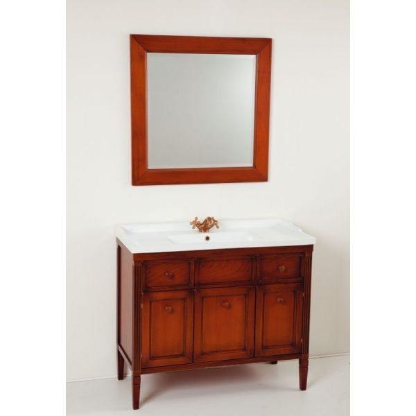 Комплект мебели для ванной комнаты CAPRIGO Альбион 90 (цвет орех антика)