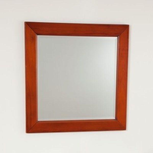 Зеркало для ванной комнаты CAPRIGO Альбион (цвет орех антика)