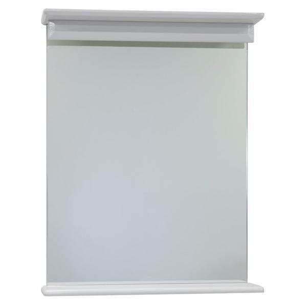 Зеркало с полкой 60 ВОДОЛЕЙ А+ (цвет белый)