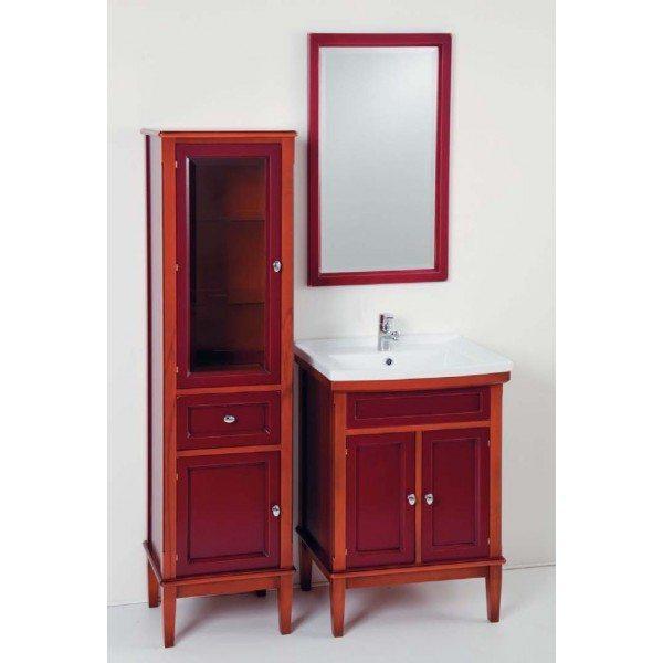 Комплект мебели для ванной комнаты CAPRIGO Джардин 60 (ontano rosso vino – ольха, красное вино)