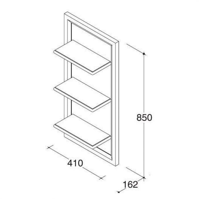 Комплект мебели для ванной комнаты CAPRIGO Джардин 60 (ontano antico – ольха, антика)