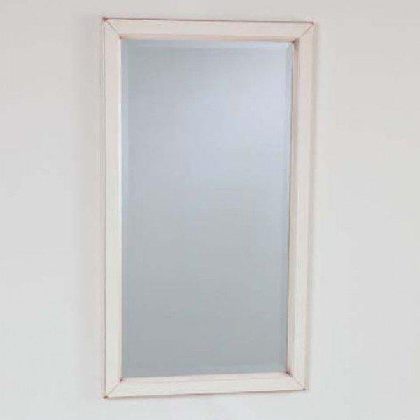 Зеркало для ванной комнаты CAPRIGO Джардин 80 (bianco lait vintage – белый, эффект старения)