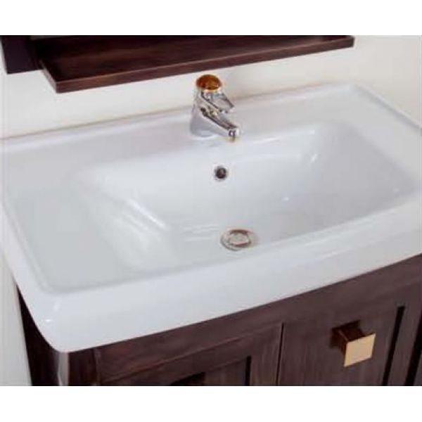 Комплект мебели для ванной комнаты CAPRIGO Монако 80 (nero – черный)
