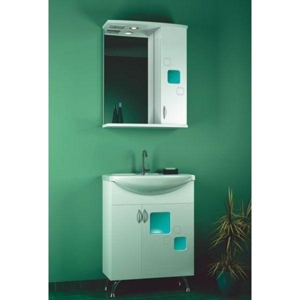 Комплект мебели для ванной комнаты ORIO Гера 65 (цвет белый)