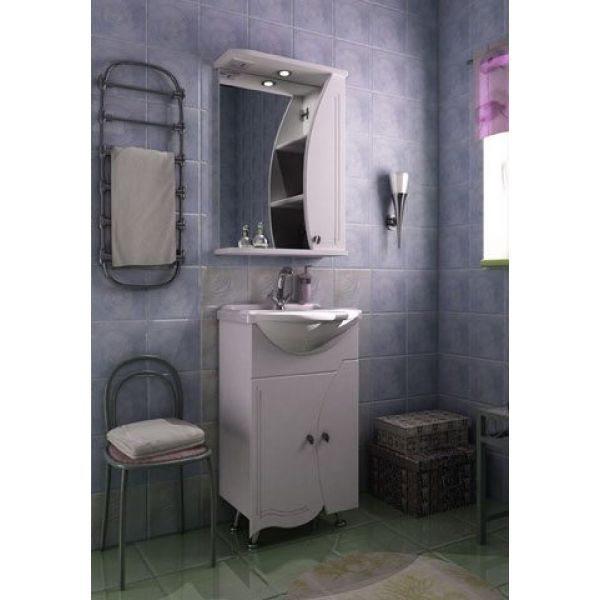 Комплект мебели для ванной комнаты ORIO Камея 50 (цвет белый)
