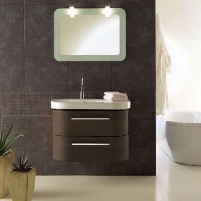 Комплект мебели для ванной Berloni Bagno DAY BS05 SX+SE02 (цвет венге)