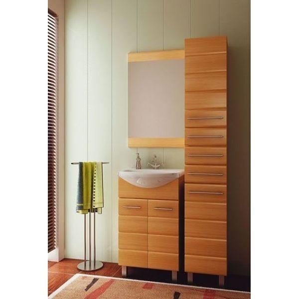 Комплект мебели для ванной комнаты ORIO Корро 55 (цвет кокос)