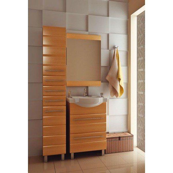 Комплект мебели для ванной комнаты ORIO Корро 60 (цвет кокос)
