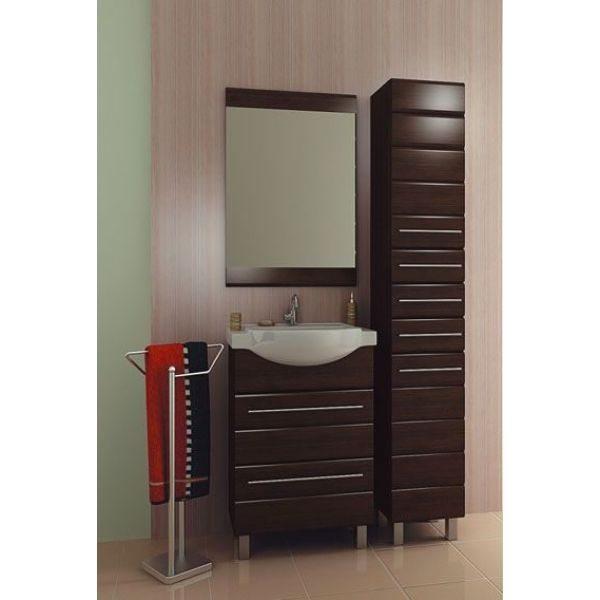 Комплект мебели для ванной комнаты ORIO Корро 60 (цвет венге)