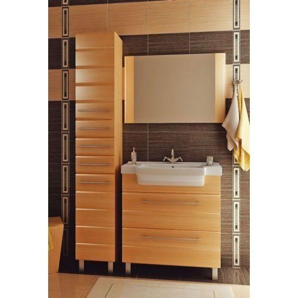 Комплект мебели для ванной комнаты ORIO Корро 80 (цвет кокос)