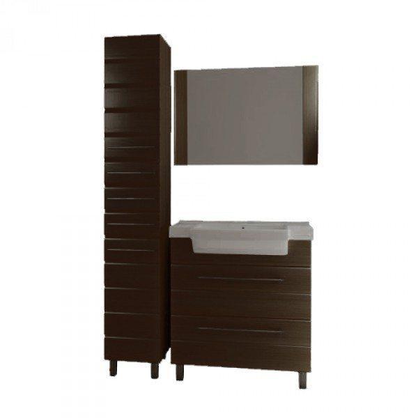 Комплект мебели для ванной комнаты ORIO Корро 80 (цвет венге)