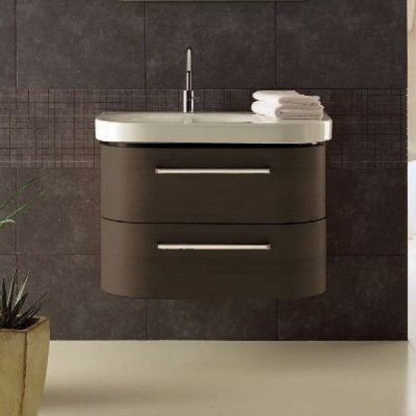 Тумба для ванной Berloni Bagno DAY BS05 (отделка шпон, цвет венге 405)